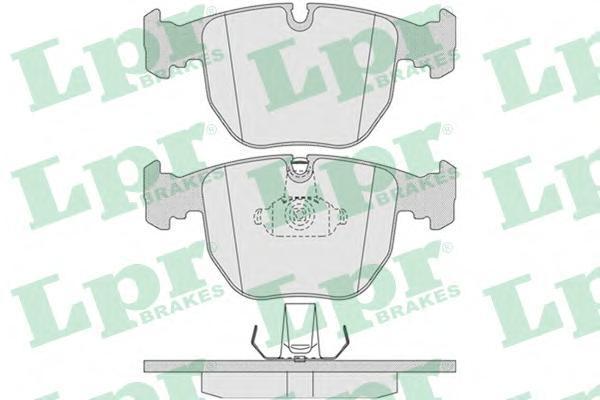 Колодки тормозные передние LPR / AP 05P77105P771