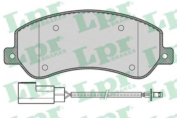Колодки тормозные LPR / AP 05P126005P1260