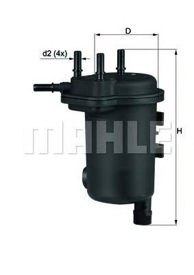 Топливный фильтр Mahle/Knecht KL633DKL633DФильтр топливный RENAULT: CLIO ll 1.5DC 01-, KANGOO 1.5DC 01-, THALIA 1.5DCI 01- Mahle/Knecht. KL633D