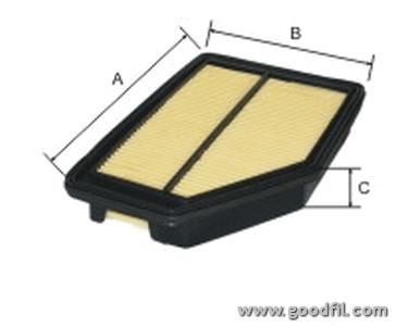 Воздушный фильтр Goodwill AG554AG554Фильтр возд. 554 AG GW HONDA CR-V-III Goodwill. AG554