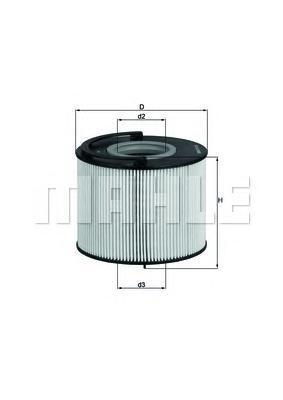 Фильтр топливный Mahle KX192DKX192D