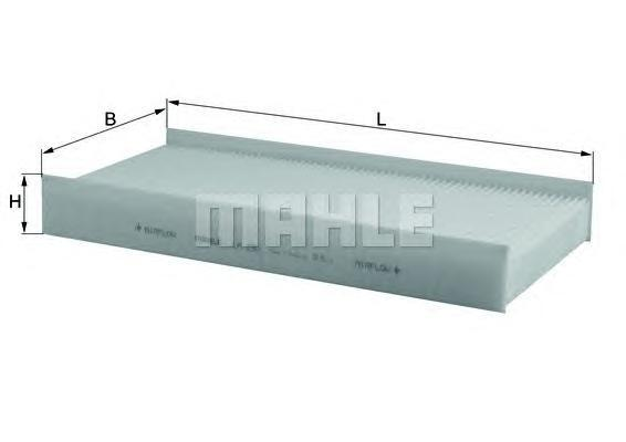 Салонный фильтр Mahle/Knecht LA232LA232Фильтр салонный PSA C5, 407 04- Mahle/Knecht. LA232