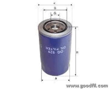 Масляный фильтр Goodwill OG529OG529Масляные фильтры Goodwill. OG529