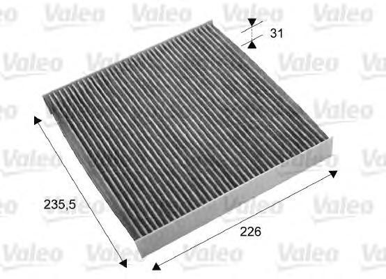Салонный фильтр угольный Valeo 715678715678
