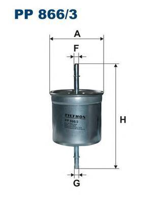 Фильтр топливный Filtron PP866/3PP866/3