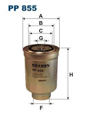 Фильтр топливный Filtron PP855PP855