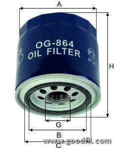 Масляный фильтр Goodwill OG864OG864Фильтр масл. 864 ОG GW Ford Goodwill. OG864