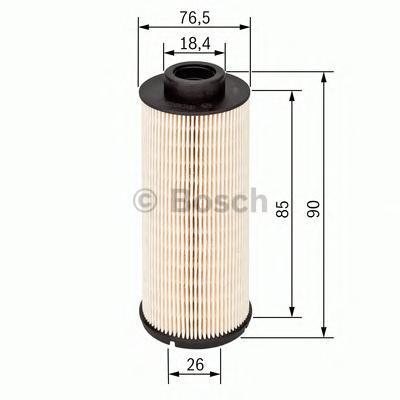 Фильтр топливный Bosch, вставка 14574317041457431704