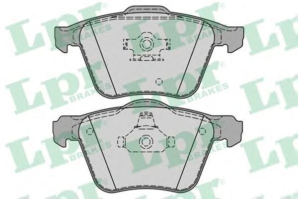 Колодки тормозные LPR / AP 05P123705P1237