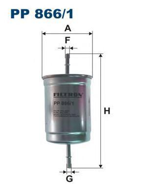 Фильтр топливный Filtron PP866/1PP866/1