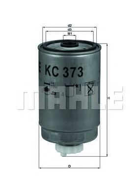 Топливный фильтр Mahle/Knecht KC373KC373Фильтр топливный Iveco Mahle/Knecht. KC373