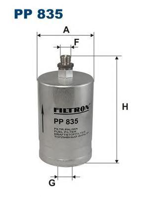 Фильтр топливный Filtron PP835PP835