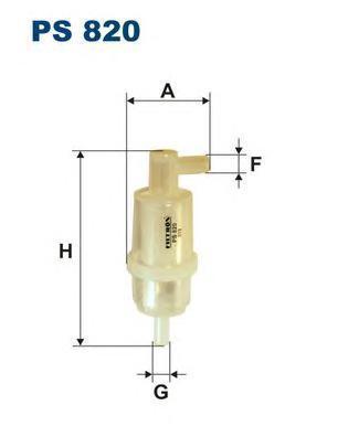 Фильтр топливный Filtron PS820PS820