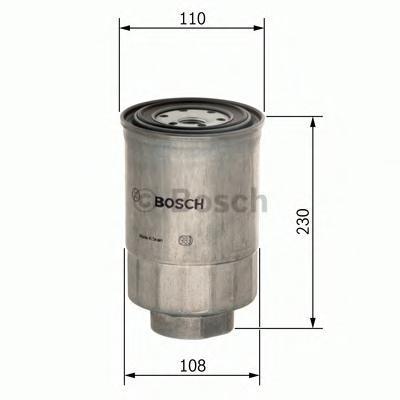 Сменный фильтр топливный Bosch F026402038F026402038