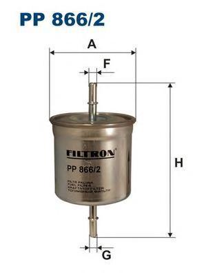 Фильтр топливный Filtron PP866/2PP866/2