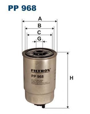 Топливный фильтр Filtron PP968PP968Фильтр топливный Filtron. PP968