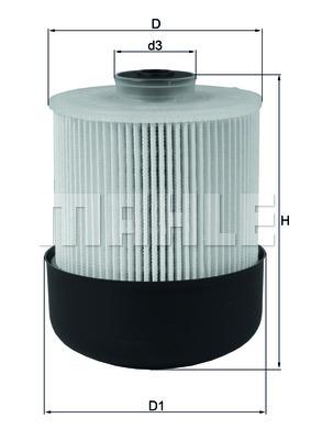 Фильтр топливный Mahle. KX338/28DKX338/28D