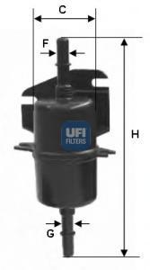 Фильтр топливный бензин UFI 31.740.0031.740.00