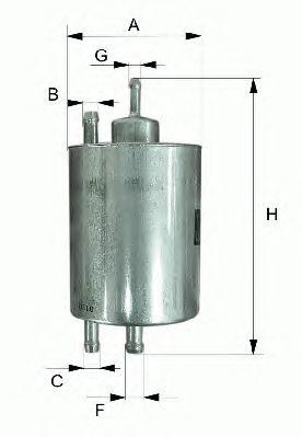 Фильтр топливный Filtron PP985PP985
