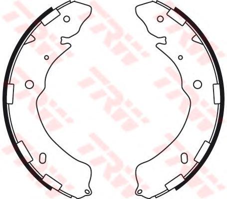 Колодки тормозные барабанные TRW/Lucas GS8768GS8768