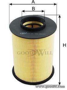 Воздушный фильтр Goodwill AG251AG251Фильтр возд. 251 AG GW FORD Focus Goodwill. AG251