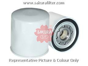 Масляный фильтр Sakura C1515C1515Фильтр масл. Sakura Sakura авто. C1515