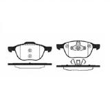 Тормозные колодки дисковые HSB HP5143HP5143Колодки тормозные дисковые передн FORD: FOCUS C-MAX 03-07, FOCUS 04-07 \ MAZDA: 3 03-09, 5 05-07 \ V HSB. HP5143