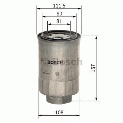 Сменный фильтр топливный Bosch F026402025F026402025