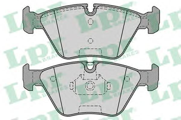 Колодки тормозные передние дисковые LPR / AP 05P125105P1251