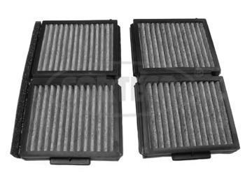 Комплект угольных фильтров салона CORTECO 8000040380000403
