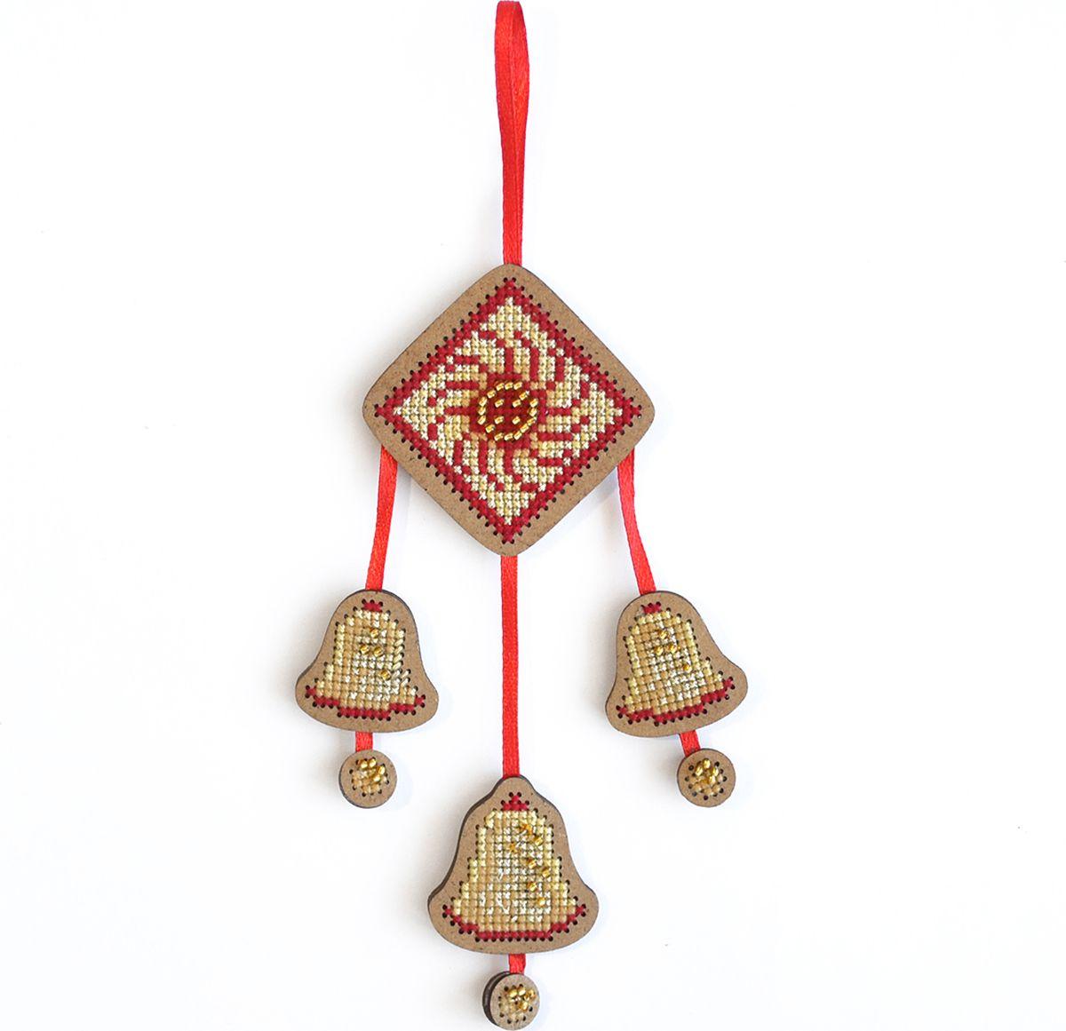 Набор для вышивания крестом Созвездие От злых сил. Колокольчики, 12 х 8 см набор для вышивания крестом друзья навсегда 11 см х 8 см