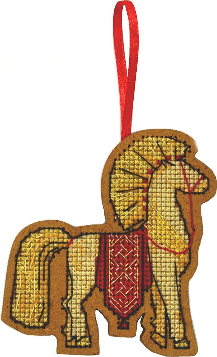 Набор для вышивания крестом Созвездие Солнечный коник, 8 х 7,5 см patrizia pepe sera болеро