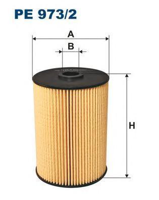 цена на Фильтр топливный Filtron PE973/2