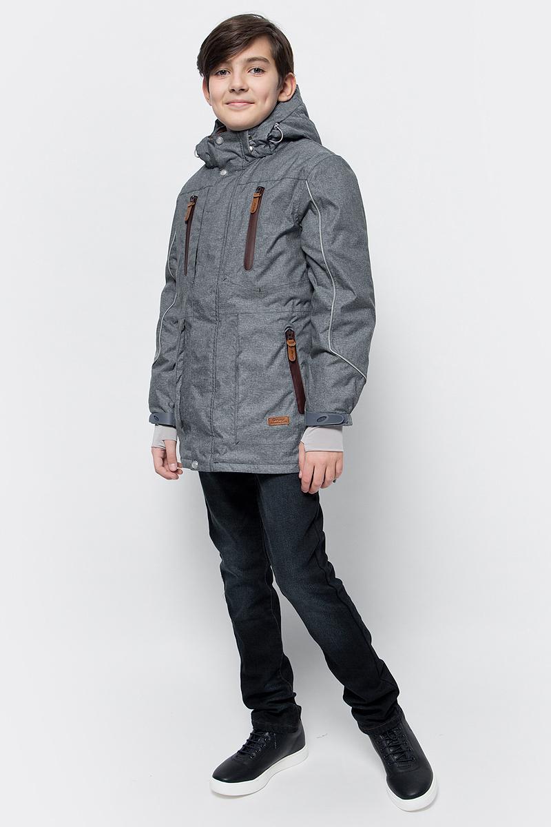Куртка для мальчика atPlay!, цвет: синий. 2jk734. Размер 146