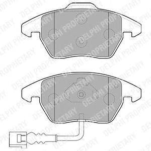 Тормозные колодки дисковые  DELPHI LP1837 хочу тормозные колодки мицюбиси кантер