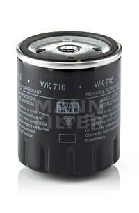 Фильтр топливный Mann-Filter WK716WK716
