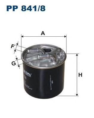 Фильтр топливный Filtron PP841/8PP841/8