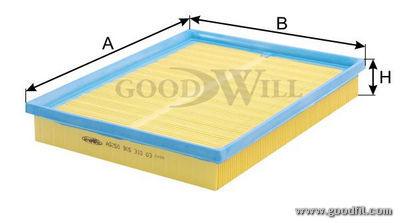 Воздушный фильтр Goodwill AG250AG250Воздушные фильтры Goodwill. AG250