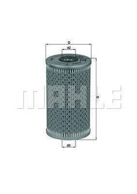 Масляный фильтр Mahle/Knecht OX96DOX96DФильтр масла BMW HU938/1X (OX96D) Mahle/Knecht. OX96D