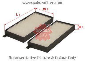 Салонный фильтр Sakura CA89080CA89080Фильтр салон. Sakura Sakura авто. CA89080