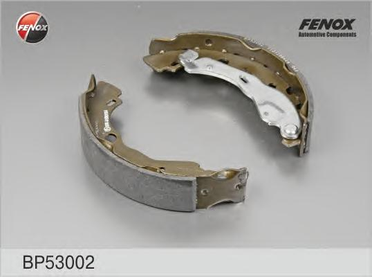 Тормозные колодки барабанные Fenox BP53002BP53002Колодки барабанные задние Dacia Logan 05 - Renault Logan [203*38] Fenox. BP53002