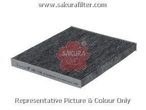 Салонный фильтр Sakura CAC1106CAC1106Фильтр салон. Sakura Sakura авто. CAC1106