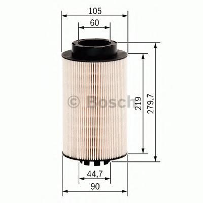 Фильтрующий элемент топливного фильтра Bosch F026402032F026402032