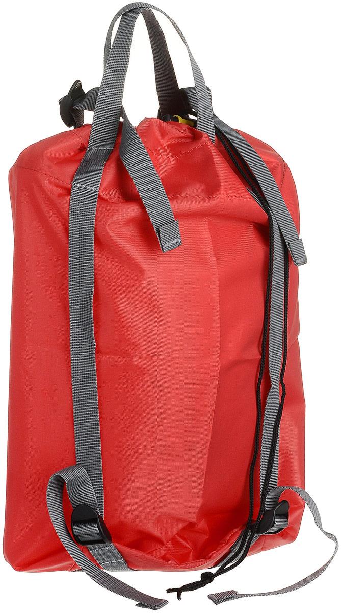 Мешок компрессионный Red Fox, цвет: красный, 20 л81-032-4300Компрессионный мешок Red Fox выполнен из облегченного, но прочного нейлона 420 с верхним материалом из 100% полиэстера. Мешок предназначен для более компактной упаковки вещей (спальник, пуховая куртка и пр.) в путешествии.Изделие исключает промокание благодаря водонепроницаемой пропитке. Компрессионный мешок обладает рядом технических свойств, которые делают вещь просто незаменимой в путешествиях: - легкий вес: 180 г; - водонепроницаемый, прочный материал; - водонепроницаемые, проклеенные швы; - ручка для переноски; - закрывается на утягивающий шнурок; - 4 стягивающих стропы.
