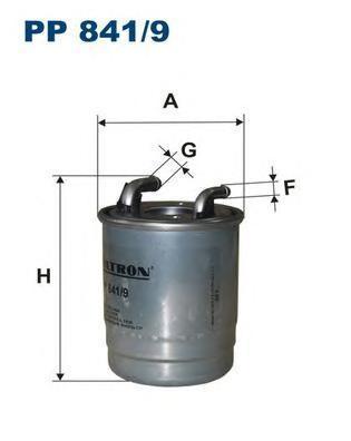 Фильтр топливный Filtron PP841/9PP841/9