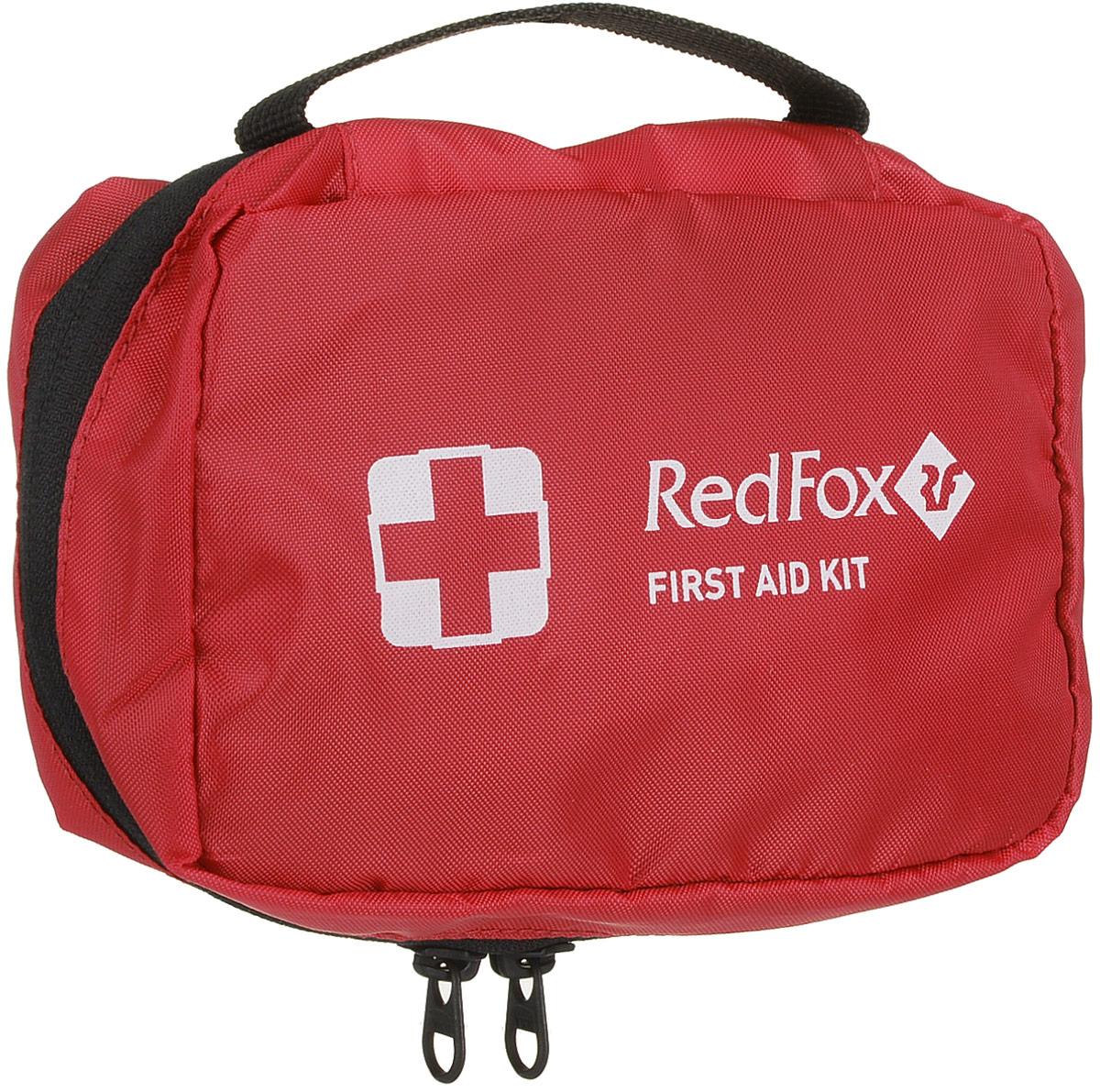 Аптечка Red Fox Rescue Kit, цвет: красный, 11 х 16 см81-527-1300Очень удобная аптечка Red Fox Rescue Kit среднего размера с круговой молнией и быстрым доступом к содержимому, идеально подойдет для путешествий и туризма. Изготовлена из прочного нейлона 210 с верхней тканью из 100% непромокаемого полиэстера.Внутри расположены два кармана, один из них сетчатый на застежке-молнии.Аптечка оснащена удобной ручкой для переноски. Размеры: 11 x 16 см.