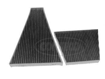 Комплект угольных фильтров салона CORTECO2165303121653031