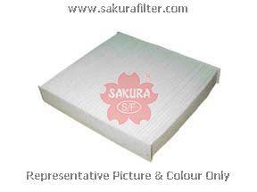 Салонный фильтр Sakura CA1106CA1106Фильтр салона TOYOTA AVENSIS/COROLLA 02- Sakura авто. CA1106