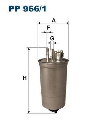 Фильтр топливный Filtron PP966/1PP966/1