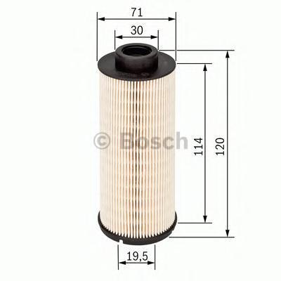 Фильтр топливный Bosch, вставка 14574317241457431724